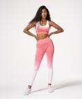 Pink Highwaist Phase Seamless Leggings
