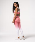 Breathable Pink Ombre Leggings