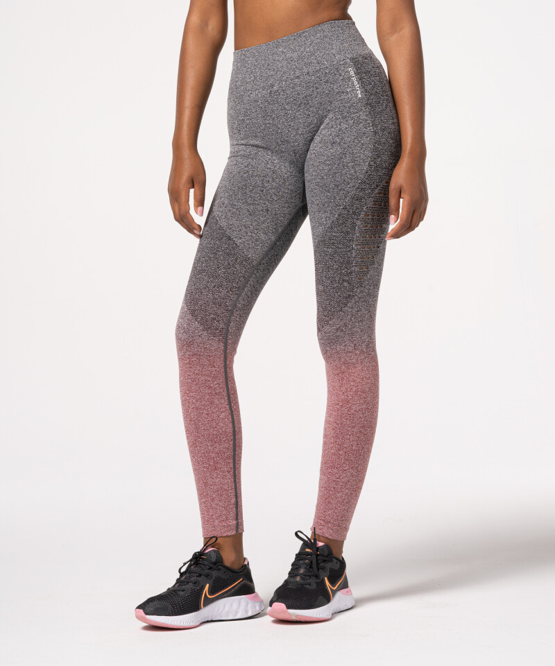 Ombre Burgundy Leggings, seamless leggings