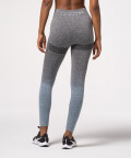 Blue and grey Phase seamless leggings