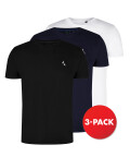 Scout T-shirts, 3-pack, Black, Navy, White