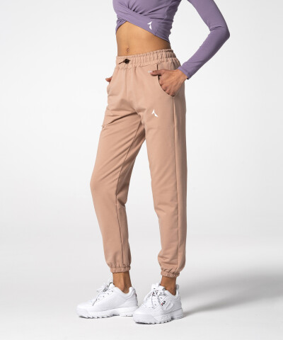 Damen Juniper Jogginghose in Beige 1
