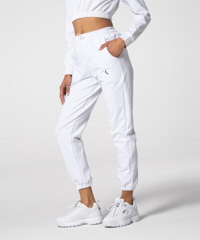 Damen Juniper Jogginghose in Weiß 1