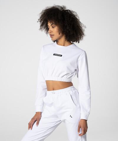 Weißes Juniper Sweatshirt für Damen 1