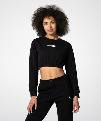 Schwarzes Juniper Sweatshirt für Damen 1