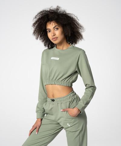 Grün Juniper Sweatshirt für Damen 1