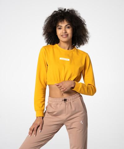 Gelbes Juniper Sweatshirt für Damen 1
