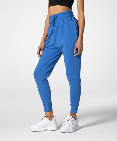 Damen Jogger mit hohem Bund Fair in Blau 1