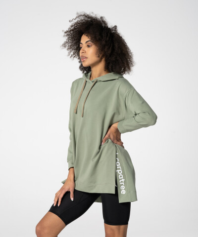 Damen Nuance Hoodie in Grün 1