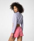 Short Lavender Sweatshirt