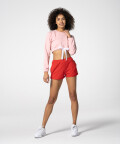 Pink Hoodie with tape at the waist