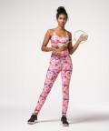 Women's Pink Gym Set