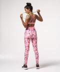 Pink Highwaist Impression Leggings