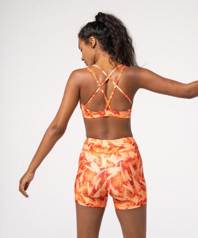 Impression Orange Lily Bra