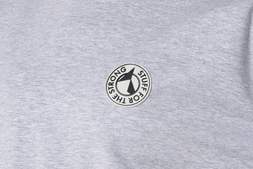 College sweatshirt with logo