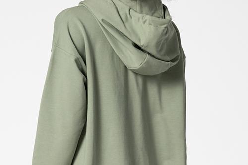 green nuance hoodie