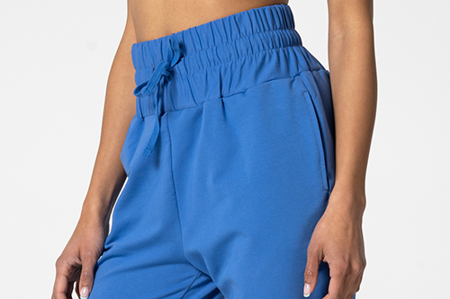 Blue highwaist sweatpants