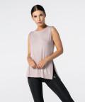 Slit Shortsleeve T-shirt - pink, Carpatree