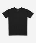 Crew-neck men's t-shirt - black, Basiclo