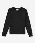 Essential women's sweatshirt - black, Basiclo