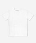 V-neck men's t-shirt - white, Basiclo