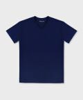 V-neck men's t-shirt - navy, Basiclo