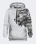 Polynesian Lion women's hoodie, Bittersweet Paris