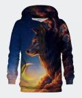 Night Guardian women's hoodie, Bittersweet Paris