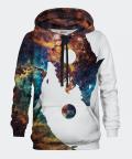 Galaxy Yin Yang Wolf women's hoodie, Bittersweet Paris