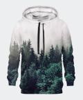 Foggy Forest women's hoodie, Bittersweet Paris