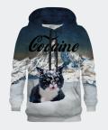 Bluza męska z kapturem Cocaine Cat, Bittersweet Paris
