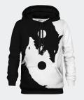 Yin Yang Wolf men's hoodie, Bittersweet Paris