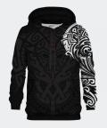 Polynesian men's hoodie, Bittersweet Paris