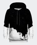 Astronaut Painting men's hoodie, Bittersweet Paris