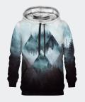 Geometric Forest men's hoodie, Bittersweet Paris