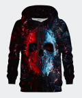 Glass Skull men's hoodie, Bittersweet Paris