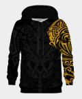Golden Polynesian men's hoodie, Bittersweet Paris