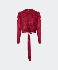 Delfi blouse, Silky Mood