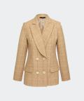 Blanca checked jacket, Silky Mood