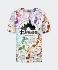 T-shirt męski z wzorem Walt Dealer, Mr. Gugu & Miss Go