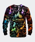 Sweatshirt für Herren Black Walt Dealer, Mr. Gugu & Miss Go