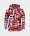 Zombie ice cream men's hoodie, Mr. Gugu & Miss Go