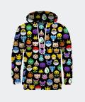 Pokemoji men's hoodie, Mr. Gugu & Miss Go
