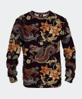 Japanese Dragon women's cotton sweater, Mr. Gugu & Miss Go