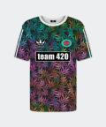 T-shirt für Damen Team 420, Mr. Gugu & Miss Go