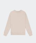 Oversized women's sweatshirt - beige, Basiclo
