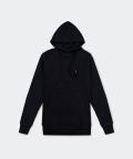 Raglan men's hoodie - black, Basiclo