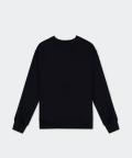 Oversized women's sweatshirt - black, Basiclo