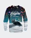 Sweatshirt für Damen Let it snow, Mr. Gugu & Miss Go