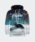 Sweatshirt mit Kapuze für Damen Let It Snow, Mr. Gugu & Miss Go